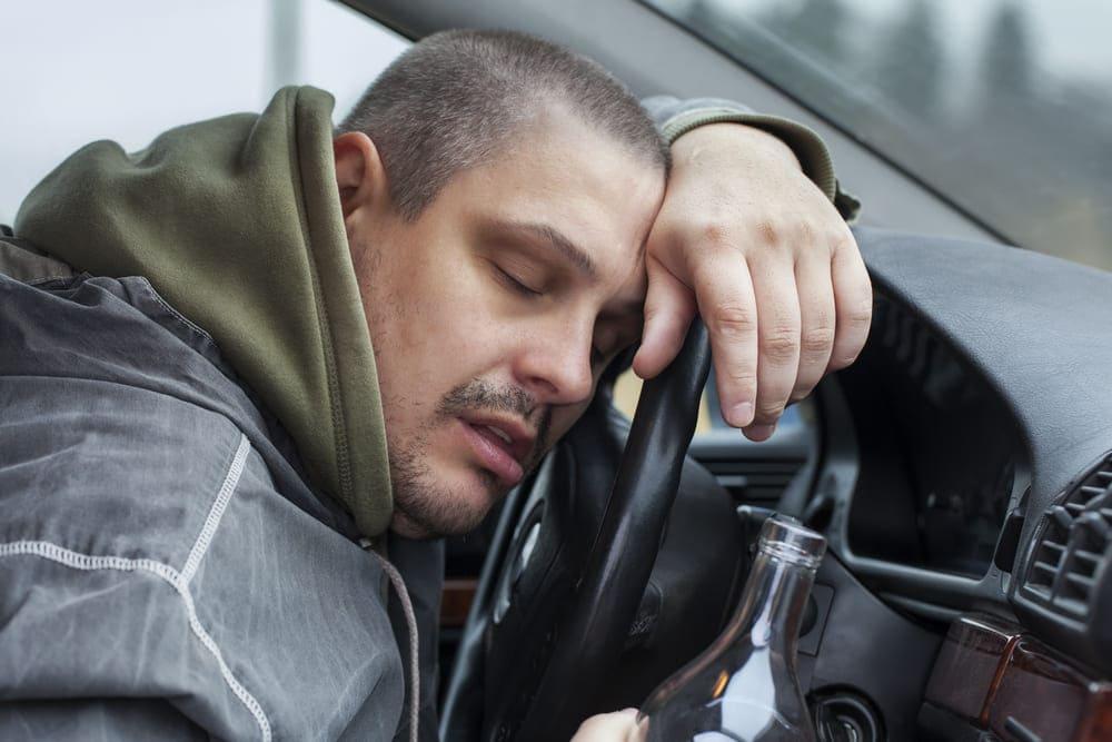 Сесть за руль после алкоголя
